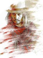 Johnny Depp by cylevie