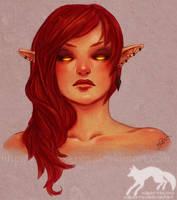 Redhead by Vulpes-Rex