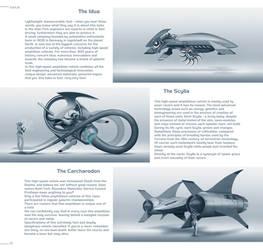 Mass Effect/Kahje artbook/Races amphibian vehicles by ArtemyMaslov