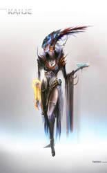 Mass Effect KAHJE fashion 2 by ArtemyMaslov