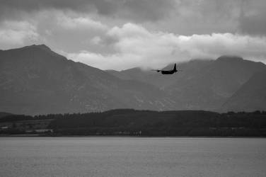 A Hercules in front of Arran by Dr-Koesters