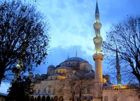 Blue Mosque 2 by RozenGT