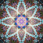 Weaved Mandala by Kancano