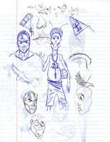 Doodles/Sketches #86 by WaywardMartian