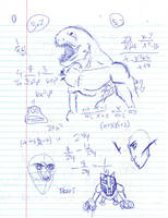 Doodles/Sketches #87 by WaywardMartian