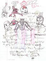 Doodles/Sketches #89 by WaywardMartian