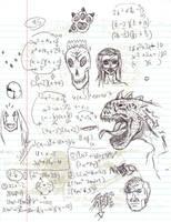 Doodles/Sketches #92 by WaywardMartian