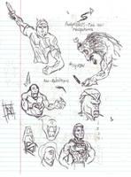 Doodles/Sketches #94 by WaywardMartian