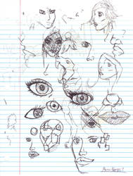 Doodles/Sketches #116 by WaywardMartian