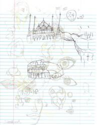 Doodles/Sketches #117 by WaywardMartian