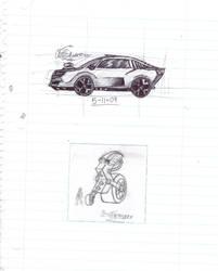Doodles/Sketches #122 by WaywardMartian