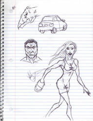 Doodles/Sketches #130 by WaywardMartian