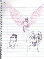 Doodles/Sketches #147 by WaywardMartian