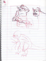 Doodles/Sketches #149 by WaywardMartian