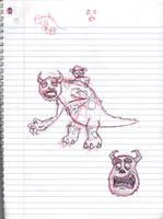 Doodles/Sketches #151 by WaywardMartian