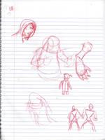 Doodles/Sketches #152 by WaywardMartian