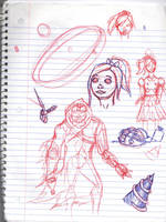 Doodles/Sketches #163 by WaywardMartian