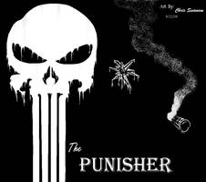 The Punisher - MS Paint #2 by WaywardMartian