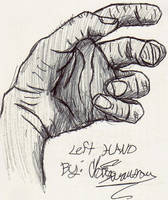 Left Hand by WaywardMartian