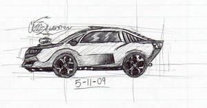 Car Concept by WaywardMartian