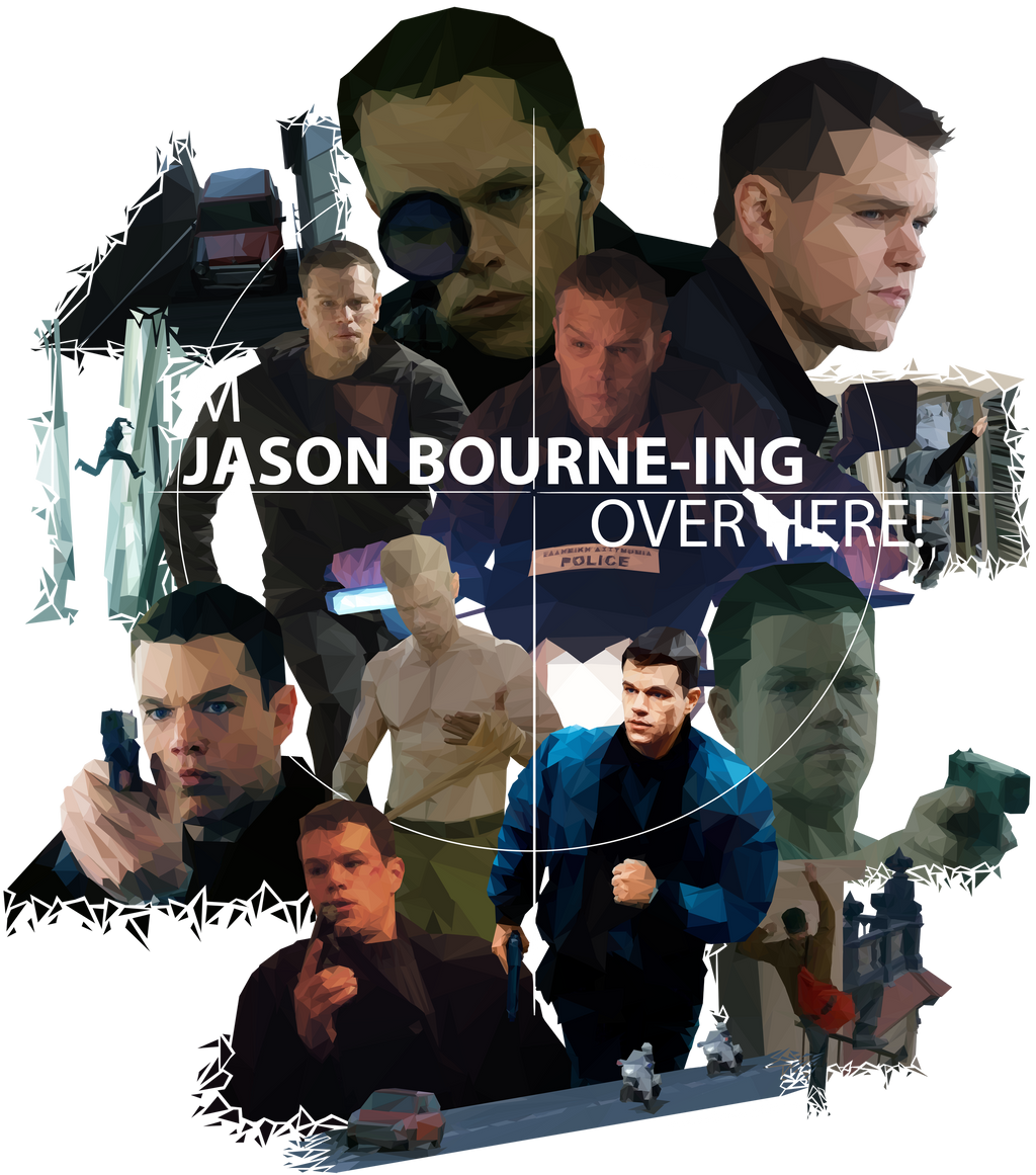 I'm Jason Bourne-ing Over Here! by WaywardMartian