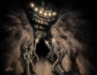 A Monster From My Dreams by WaywardMartian