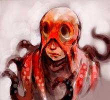 Octpus Head by ogitaka