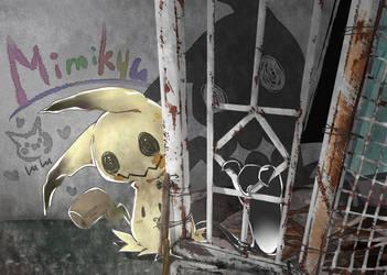 Mimikyu by LuluGraffitiBoard