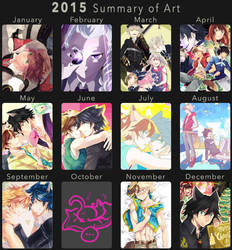 2015 Summary of Art by Nightmaker
