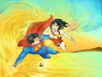Super Summer Lovers by kurishitoi