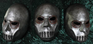 Death Eater Mask by random-soul