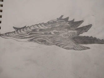 spaceship sketch by westernwinds
