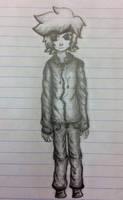 Lank (school doodle) by LynKofWinds