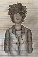 Aperio (school doodle) by LynKofWinds