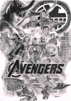 Avengers by Quadcabbage