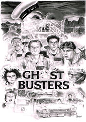 Ghostbusters by Quadcabbage