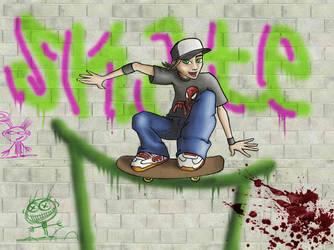Skate boy by meiseys