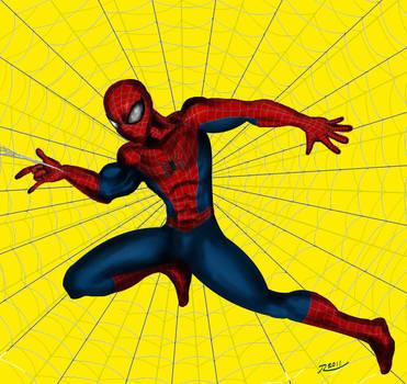 Spiderman Digital Ink Redo by Rene-L
