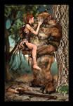 First Kiss by Tasharene