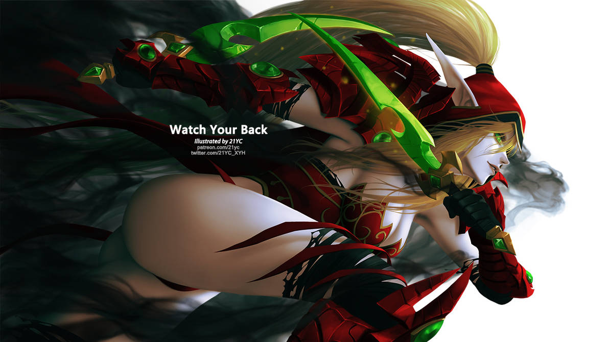 Watch Your Back by 21YC