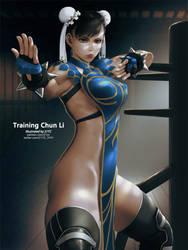 Training Chun Li by 21YC