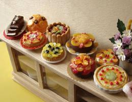 Lots of Cakes and Tarts by PetitPlat