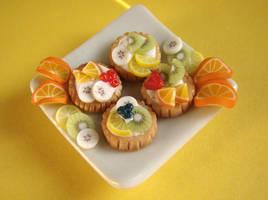 Fruit Tarlets by PetitPlat