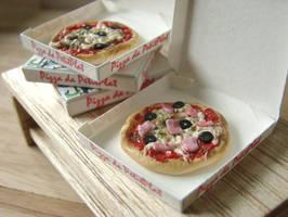 Mini Pizza by PetitPlat