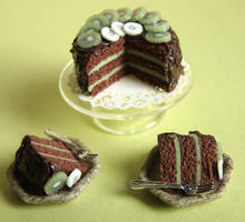 Chocolate Cake by PetitPlat
