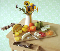 Fruit Preparation Board by PetitPlat