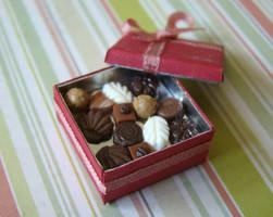 Red Chocolate Box by PetitPlat