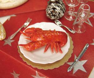 teeny weeny lobster by PetitPlat
