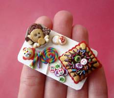 Rainbow Birthday Tray - 2 by PetitPlat