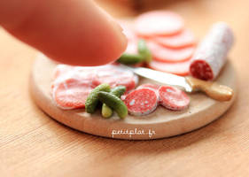 Giant Finger and Pickles by PetitPlat